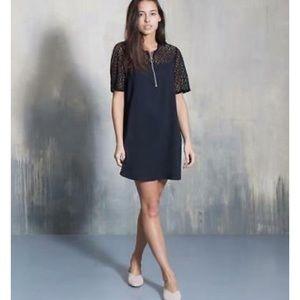 Avec Les Filles textured lace Dress